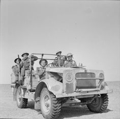 Night patrol across the desert in No Mans Land. Rhodesian troops of the King's Royal Rifles in a Bedford MWD truck in the Western Desert, 12 May Afrika Corps, North African Campaign, British Armed Forces, Ww2 Photos, Military Pictures, Army Vehicles, Ww2 Tanks, British Army, British Tanks