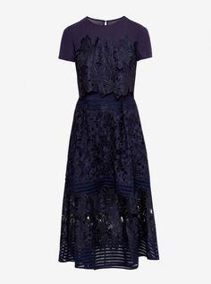 Midi dress, £229, Ted Baker