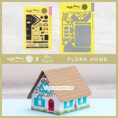 Flora Home Stamp Set – WaffleFlower.com