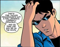 Young Justice Nightwing I don't know why but he looks pretty god in that shot for some reason😂😂💙 Nightwing Young Justice, Young Justice Robin, Nightwing And Starfire, Damian Wayne, Young Justice Invasion, Dick Grayson Batman, Dc Comics, Robin The Boy Wonder, Richard Grayson