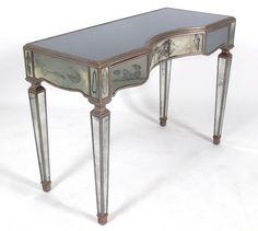 chicago antique furniture chicago antique mirror table - 736×658