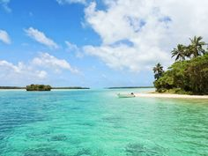Wallpaper // Tropical Island by Sebastian Jermer.