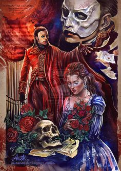 The Phantom Of The Opera by JustAnoR