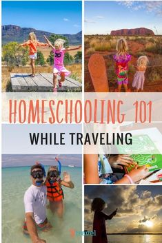 Homeschooling while travelling. We share our homeschooling strategy, routine and resources for teaching our kids on the road. We're combining homescholing with unschoolng and worldschooling. Head spinning? Click to read more. Happy Pinning