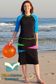 Another swim skirt for training: Long Swim Skirts - Chlorine Proof - Skirts - BOTTOMS