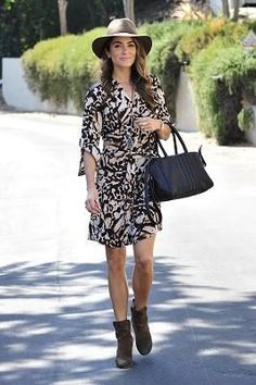 We normally go gaga when one celebrity wears something amazing, but three? That's cause to drop everything and follow suit. Which is why we just had to share this crazy affordable leopard print dress stars likeNikki Reed, Bella ThorneandKatharine McPheehave all be snapped wearing. Here's where it really gets good, though.