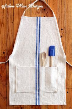 Grain Sack Adjustable Apron