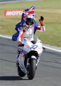 casey stoner 2009   Casey Stoner - Australie Moto GP 2009 - Minichamps 1/12