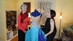 Part interview with Teri, one of the Sew Like A Pro™ members. We discuss ways to finish sewing and rhinestoning her first-ever Dancesport ballgown. Sewing School, Ballroom Dance, Dance Studio, Ball Gowns, Interview, Patterns, Fashion, Ballroom Dancing, Ballroom Gowns