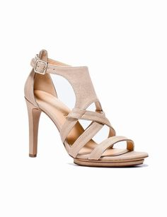 High-Heel Cage Sandals from THELIMITED.com
