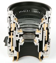 Cross Section Views of Leica Lenses