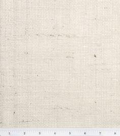 Oyster burlap fabric /via Joann.com. Great for bedroom curtains