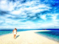 Beach is always a good idea
