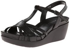 VANELi 'Pallas' Platform Sandal, Black Leather >>> Read more reviews of the product by visiting the link on the image.