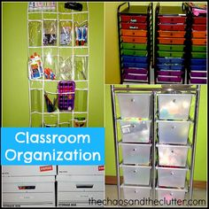 This is my dream -sigh- If we ever add on that homeschool room we've talked about, this has some great ideas.