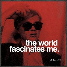andy warhol art images, image search, & inspiration to browse every day. Andy Warhol Quotes, Andy Warhol Art, Pop Art, Roy Lichtenstein, Art Prints Quotes, Art Quotes, Quote Art, Wolf Quotes, Quotable Quotes