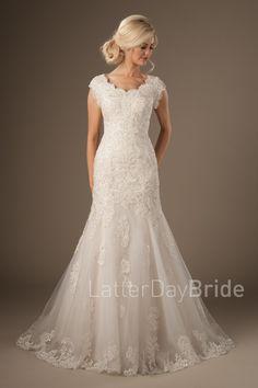Modest Wedding Dresses : Silverthorne – LatterDayBride