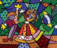 Colors Of Brazil - 1996 - tinta acrílica sobre tela