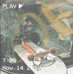 #skateboad #car #grunge