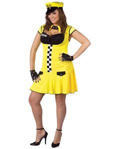 Cabbie Adult Womens Plus Size Costume