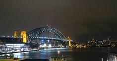 #australia #nsw #Sydney #sydneyharbour #sydneyharbourbridge #circularquay #ferrywharf #ferry #night #city #citylights #water #bridge #harbour #clouds #therocks #sightseeing #cruiseterminal #cruise #terminal by chr_go_ http://ift.tt/1NRMbNv