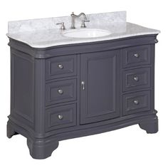 "KBC Katherine 48"" Single Bathroom Vanity Set & Reviews 
