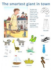 English worksheet: The smartest giant in town