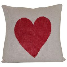 Heart Eco Pillow Cover, $49, now featured on Fab.
