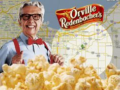 Orville Redenbacher was from Valparaiso, Indiana!  | Life In The Great Midwest: The Valparaiso Popcorn Fest 2007