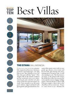 ISLANDS Top 10 Best Villas