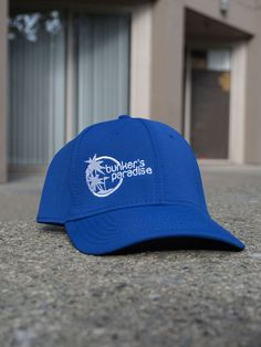 5b84dd5b8c8 Bunkers Paradise Golf Hat in Blue - now available at the Bunkers Paradise  Store!