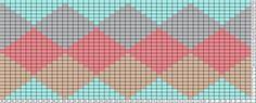 Diamonds pattern
