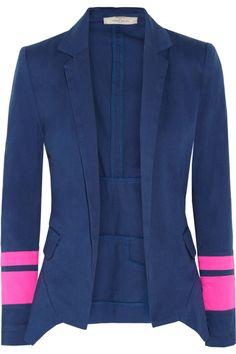 Preen Line   Jib stretch-cotton blazer   NET-A-PORTER.COM