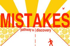 mistakes pathway to discovery ART print by Giraffes and Robots .com