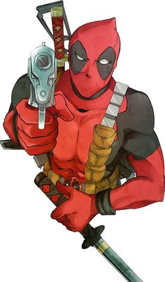 Deadpool by erodayu.deviantart.com on @deviantART