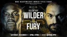 Top-notch combat sports and professional wrestling coverage from Matt Ward and crew. Bronze Bomber, Deontay Wilder, Boxing History, Tyson Fury, Wbc, Professional Wrestling, The Past, Action, December