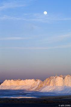 Este glaciar es de sal. Es una foto de una de las salineras que hay en El Puerto de Sta. Maria. Cádiz Spain