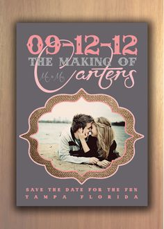 Love these save the dates