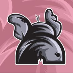 Elephant logo for Ella