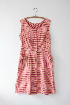Image of As Is - Graphic Print Novelty Dress