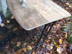 Little folding table