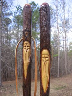 hand carved walking sticks - Google Search