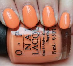 OPI Where Did Suzi's Man-Go? from the OPI Brazil Collection for Spring/Summer 2014! (Click through to see an in-depth review & more swatches!)