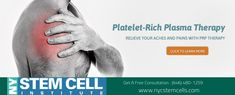 NYC Stem Cells is under construction Platelet Rich Plasma Therapy, Blood Plasma, Manhattan Nyc, Growth Factor, Blood Cells, Stem Cells, Pain Relief, Surgery