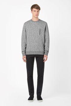 Zip pocket sweatshirt from COS