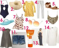 Okay, I need all this for the cruise.  Perfect!