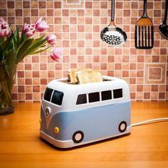 Campingbus Toaster - Blau