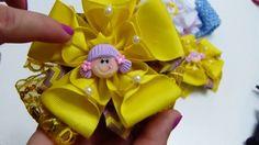 Moños para Niña, Tutorial Moños, Baby Headbands/Diadema Bebes