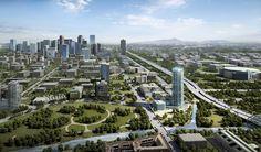 GDA Architects provides full service architectural, interior design, master planning and programming services. San Francisco Skyline, Denver, Colorado, Park, Architecture, Travel, Arquitetura, Aspen Colorado, Viajes
