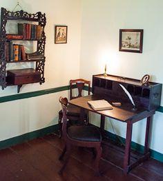 Edgar Allen Poe's writing desk